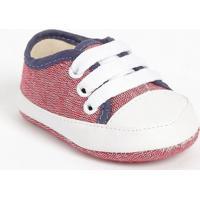 Tênis Com Amarração- Vermelho & Brancotico Baby