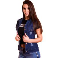 Colete Aero Jeans Azul - 1087
