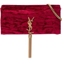 Saint Laurent Bolsa Tiracolo Kate Com Tassel - Vermelho
