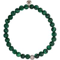 Lord And Lord Designs Pulseira De Contas Jay Z - Verde