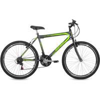 Bicicleta Aro 26 Mtb 21V Freio V-Brake Jaws Mormaii - Unissex