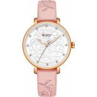 Relógio Curren Analógico C9046L Feminino - Feminino-Rosa