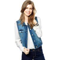 Colete Jeans Mng Barcelona Vicky Azul