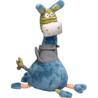 Brinquedo De Pelúcia Burrinho - Storki Azul