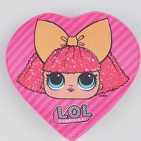 Bolsa Infantil De Coração Lol Surprise Pink - Único