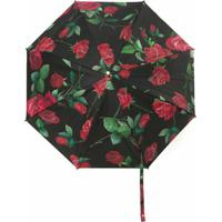 Dolce & Gabbana Guarda Chuva Estampado - Preto