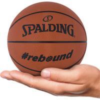 Minibola De Basquete Spalding Nba Rebound - Laranja Escuro