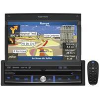 """Dvd Player Automotivo Pósitron Sp6900 Nav Com Tela 7"""" Touch Screen, Tv Digital, Gps, Viva Voz Bluetooth, Usb, Entrada Auxiliar E Controle Remoto"""