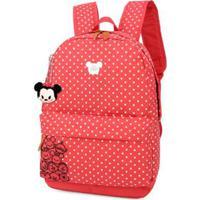 7f700156c ... Mochila Escolar Tsum Tsum Disney - Feminino-Vermelho