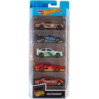 Carrinhos Hot Wheels Pack Com 5 Nightburnerz - Mattel - Kanui