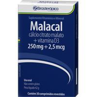 Malacal 250Mg + 2,5Mcg Brasterapica 30 Comprimidos Revestidos