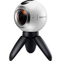 Câmera Samsung Gear 360 (2016) Sm-C200 15Mpx2 Branco