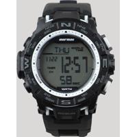 12eb5d7785b CEA  Relógio Digital Mormaii Masculino - Mo1173D8K Preto - Único