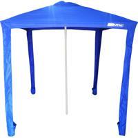 Gazebo Guarda-Sol Sombreiro 1,73X1,73M Nautika Com Fixação Central Ibiza 350041 Azul
