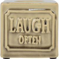 Porta Velas Laugh Often Kasa Ideia