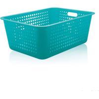 Caixa Organizadora Maxi Azul Ou