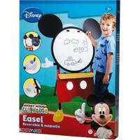 Conjunto De Artes E Atividades - Lousa 2 Em 1 - Disney - Mickey Mouse - Disney - New Toys