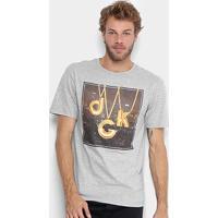 Camiseta Dgk City Lights Tee Dt-3525 - Masculino-Cinza