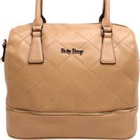 68872b8b7 ... Bolsa Matelassê Betty Boop Feminina - Feminino-Bege