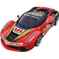 Carrinho De Controle Remoto Sport Racer - 7 Funções - Unissex-Vermelho