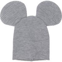 Comme Des Garçons Shirt Boys Gorro Com Orelhas De Mickey - Cinza