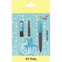 Kit Nenê Land Manicure Baby Com Tesoura Azul - Tricae