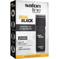 Máquina De Acabamento Dual Black Bivolt Salon Line