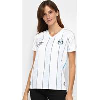 Camisa Grêmio Ii 20/21 S/N° Estádio Umbro Feminina - Feminino
