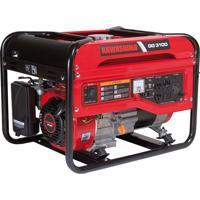 Gerador De Energia À Gasolina Monofásico 3100W Gg3100 Kawashima