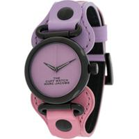 Marc Jacobs Watches Relógio Color Block - Roxo