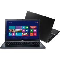 "Notebook Acer E1-572-6_Br800 - Intel Core I3-4010U - Ram 4Gb - Hd 500Gb - Led 15.6"" - Windows 8"