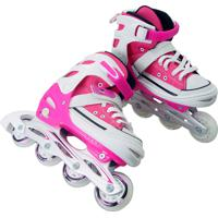 Patins Inline All Style Street Rosa M34 Ao 37-Bel