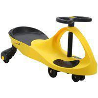 Carrinho De Rolimã Car Infantil Importway Crianças Amarelo Bw004Am