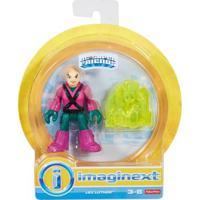 Mini Figura De Ação - Dc Comics - Imaginext - Lex Luthor Com Acessórios 15 Cm - Mattel - Masculino-Incolor