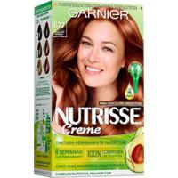 Coloração Nutrisse Garnier 677 Chocolate Intenso Acobreado - Unissex-Incolor