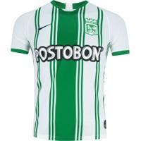 Camisa Atlético Nacional I 19/20 Nike - Masculina - Branco/Verde