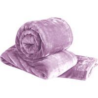Cobertor Super Soft Queen Size - Rosa - 220X240Cmsultan