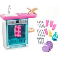 Barbie Móveis Básicos Lava Louças - Mattel - Kanui