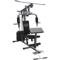 Estação De Musculação Especial Com 80Kg Aparelho Ginástica Academia Wct Fitness - Unissex