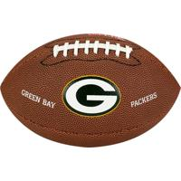 Netshoes  Bola De Futebol Americano Nfl Team Jr. Green Bay - Wilson -  Unissex 4f3a72af2356a