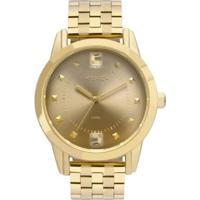 Relógio Euro Spike Illusion 40Mm Aço Feminino - Feminino-Dourado
