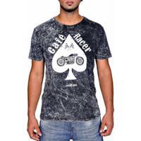 Camiseta Moto Lovers - Café Racer Marmorizado - Masculino
