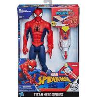 Boneco Spider Man Titan Hero Power Fx Hasbro - Masculino-Vermelho