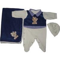Kit I9 Baby Saida De Maternidade Plush Enzo
