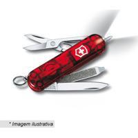 Canivete Signature Com 7 Funã§Ãµes- Inox & Vermelho- 5Victorinox