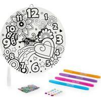 Kit De Artes - Relógio Para Decorar - Totally Me - New Toys