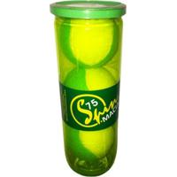 Bola De Tênis Spin Soft 75 Verde Tubo Com 3 Bolas Spin - Unissex
