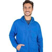 Casaco Moletom Taco Masculino - Masculino-Azul Royal
