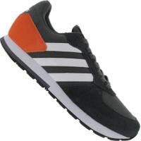 Tênis Adidas 8K - Masculino - Verde Esc/Laranja