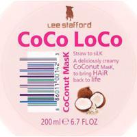 Máscara De Tratamento Coconut Coco Loco Lee Stafford 200Ml